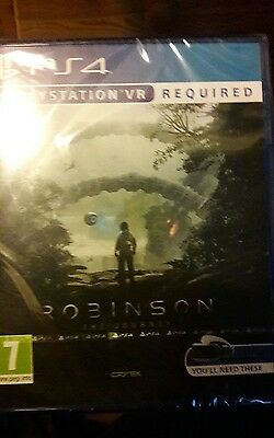 Robinson The Journey - PS4 PlayStation VR PSVR Game- BRAND NEW