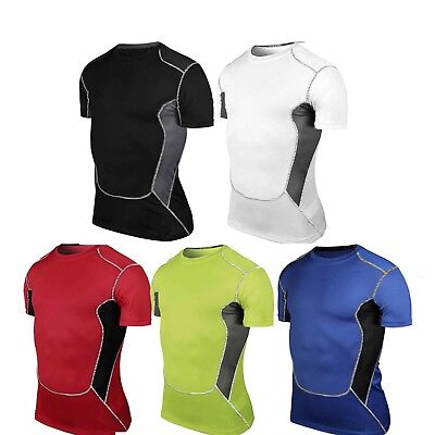 Men's Tights Compression Baselayer Thermal Shirts Wear Sports Athletic