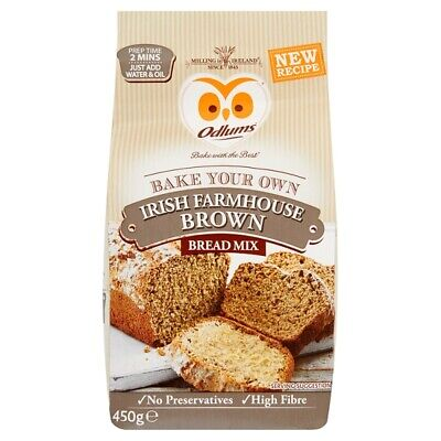 Irish Odlums Quick Bread Farmhouse Brown mix - just add water & oil - 2 min prep