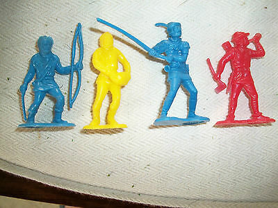 FOUR NEW ZEALAND MADE 54MM CEREAL ROBIN HOOD FIGURES  Lot 2