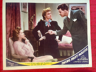 Swing Shift Maisie 1943 MGM comedy lobby card  Ann Sothern