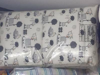 3 piece Cot Cot/Bed set includes Quilt, bumper and canopy