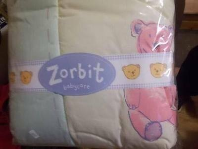 Nursery Bedding Zorbit  Cot Cot/Bed Quilt