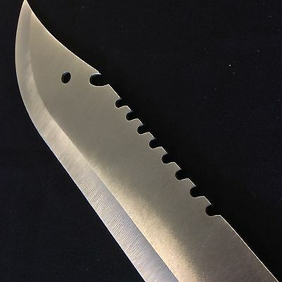 Full Tang Saw back Latin Style Sharp SIlver Blade Machete