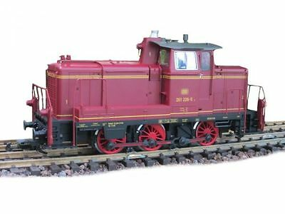 Piko diesel locomotive BR V 261,red,digital,with DCC and Sound,G Scale