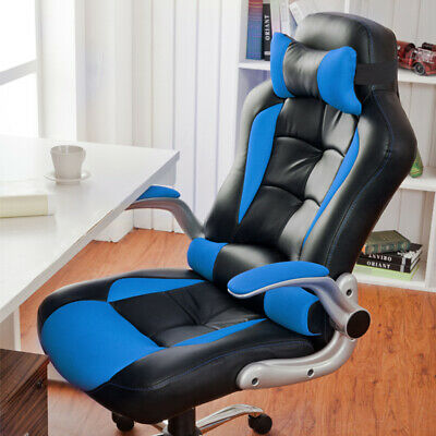 Computer Chair Recliner Office Desk Gaming Chair Sports Racing Home Adjustable