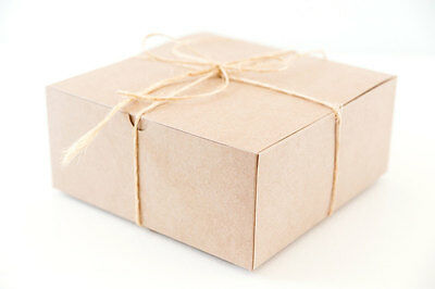 Gift Boxes, 50 Kraft Boxes, Large Gift Box, Paper Boxes, Christmas Gift Boxes