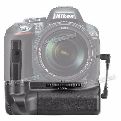 Neewer Battery Grip Pack Replacement for Nikon D5100 D5200 D5300 DSLR Camera