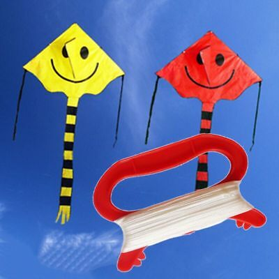 100m Kids Line String With D Shape Winder Handle Board For Flying Kite Tool