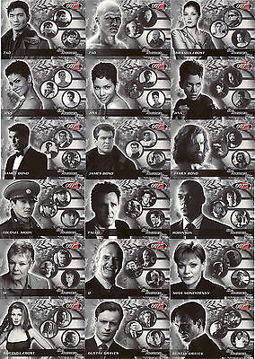 James Bond Die Another Day Rare 18 Card Commemorative Set