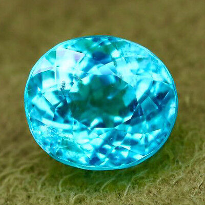 1.87ct INCOMPARBLE TOP NEON  BLUE COPPER BEARING 100% NATURAL PARAIBA TOURMALINE