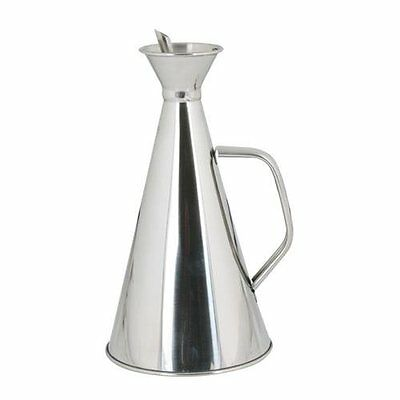 Aceitera Anti-Goteo 500 Ml. Inox.