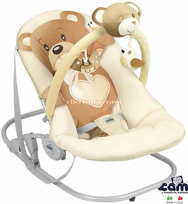CAM Bouncer Bear Giocam col. 219 for nanna and relax of baby childcare baby