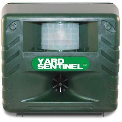 Yard Sentinel, Outdoor Electronic Pest Animal Ultrasonic Repeller, With Ac Adapt