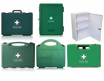 Empty First Aid Kit Box - Standard, Eclipse, Deluxe, Fast-Check, Metal Cabinet