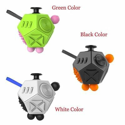 12 Side Magic Fidget Cube Toy Adult Children Decompression Cube Creative Gifts