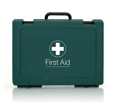 Empty Standard First Aid Kit Box - Small, Medium or Large - Work Office Home HSE