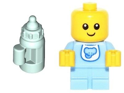 Genuine Lego 71013 minifigure series 16 no. 16 Babysitter - BOTH Baby + Bottle