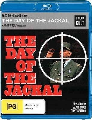 The Day Of The Jackal  - BLU-RAY - NEW Region B