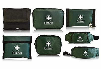 Empty First Aid Kit Bags - Small, Large, Bum Bag, Pouch, Belt, Key Ring, Zip
