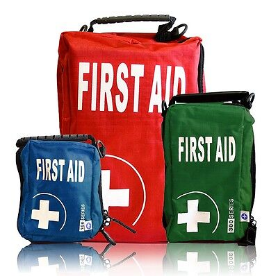 Eclipse Series First Aid Bags Empty - Small Medium or Large - Red Blue or Green