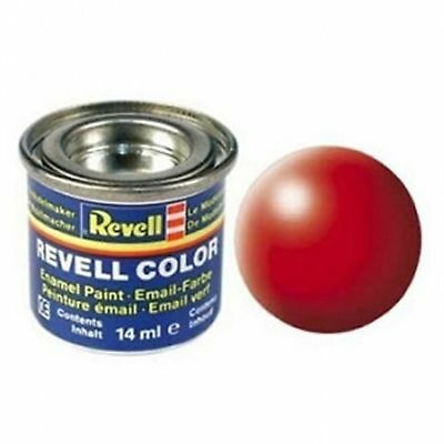 Revell Luminous Red Silk Matt Enamel Paint 14ml - 32332