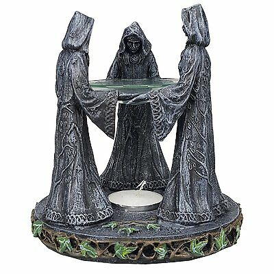 Triple Goddess Mother Maiden Crone Ceremonial Oil Diffuser Decorative Accessory