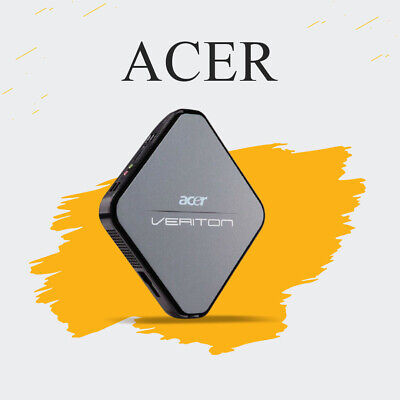 CHEAP Acer Veriton N281G Intel Atom 2GB RAM 120 GB HDD WIN7 WIFI Mini PC SD Card