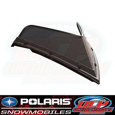 Polaris Snowmobile Pro-Ride Low 7Inch Windshield Black Rmk Pro Rush Indy