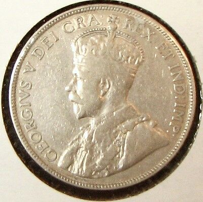 1912 50¢ Canada. See photo for condition.