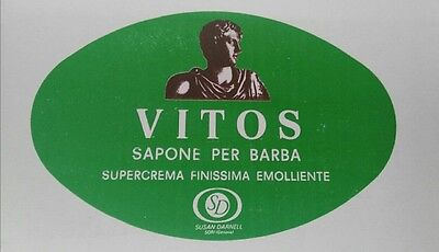 Vitos 'Green' Italian soft shaving soap 400gr UK stock