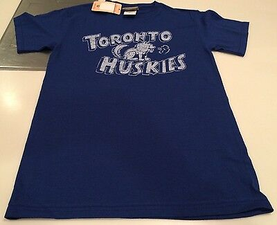 NBA Toronto Raptors Majestic Huskies Retro 2017 T Shirt Unisex Small Hardwood