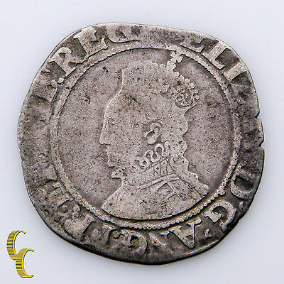 1558-1603 Great Britain Silver Shilling Queen Elizabeth I (VG) Very Good