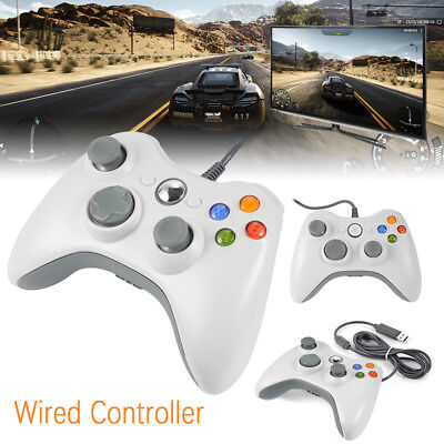 Slim Wired USB Game Pad Joypad Controller para Microsoft PC Xbox 360 AC480