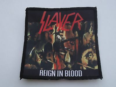 Slayer Reign In Blood Sublimated Patch