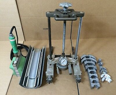 McElroy Sidewinder Chain Clamp Pipe Fusion ASW00112 , 600PSI W/ Inserts & Heater