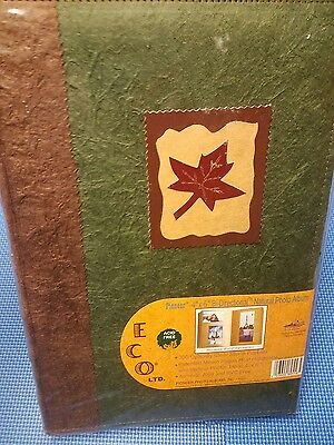 Pioneer 4 x 6 Photo Album Holds 300 Designer Style Natural Brown Pages NEW
