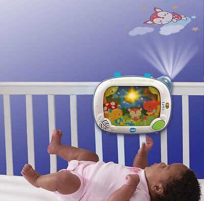 Crib Mobile Projector Good Night Light Baby Sleeping Songs VTech Baby New