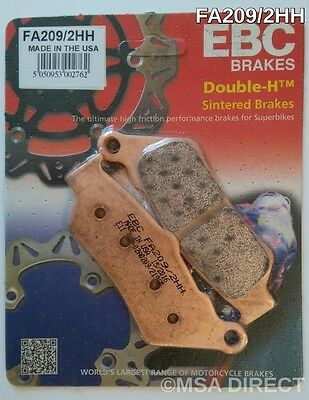 BMW R1200GS / R1200RT / R1200R / R1200RS EBC Sintered REAR Brake Pads FA209/2HH