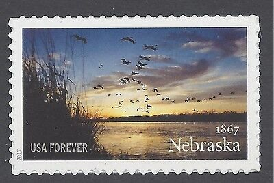 #5179 (49c Forever)150th Anniv.of Nebraska Statehood 2017 Mint NH