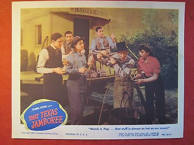 Lobby Card THAT TEXAS JAMBOREE 1946 KEN CURTIS - JEFF DONNELL - ANDY CLYDE
