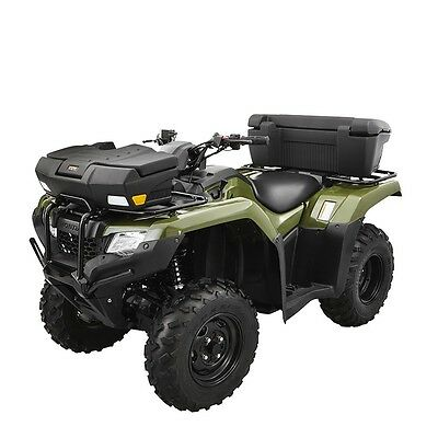 Kolpin Front /& Rear Combo ATV Trail Box Rack Storage Trunk Helmets Gear Lockable