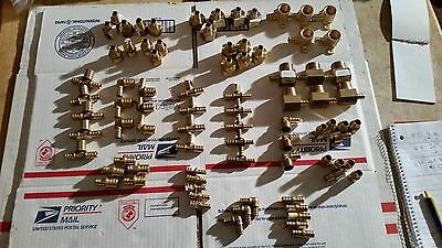 1/2 inch pex fittings mixed lot
