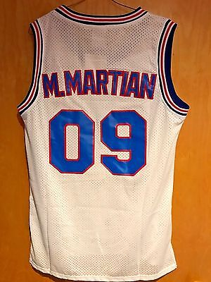 Marvin The Martian #09 Space Jam Tune Squad Basketball Jersey S M L XL XXL