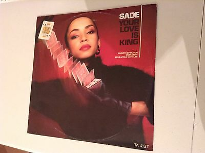 Sade Your Love Is King Vinyl Record 12 Inch Ta 4137