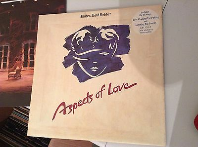 Andrew Lloyd Webber Aspects Of Love 2 X Lp Vinyl With Booklet