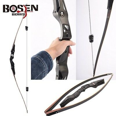 BOSEN BOWS Bamboo Limbs 20-60lbs. Righthand Longbows Archery Target Hunting Bow