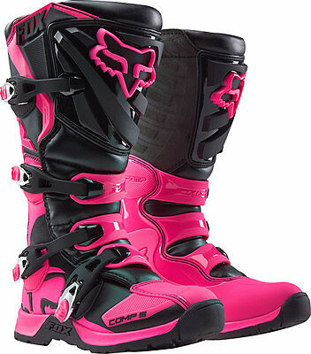 Fox - 2017 Womens Comp 5 MX Boots Brand New, Authorized Seller,  Full Warranty