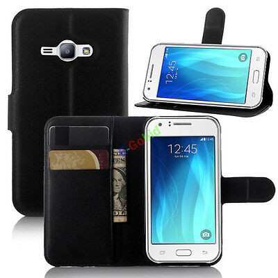 For Samsung Galaxy J7 Phone Case Card Wallet Flip Leather Protective Shell Cover