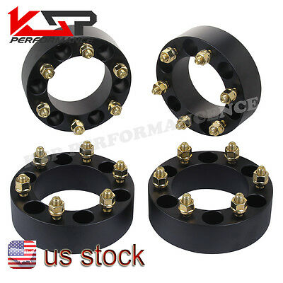 4x 2'' Toyota Wheel Spacers Adapters 6x5.5 /139.7 Tundra 00-06, 4 Runner 88-13
